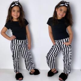 Black, white & ruffles set