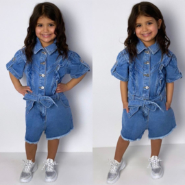 All denim playsuit