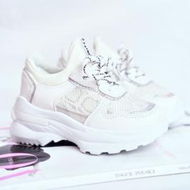 White snake sneakers