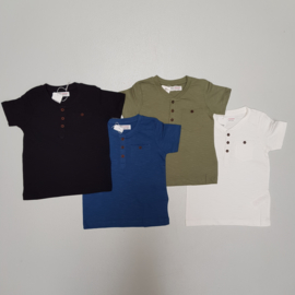 Buttons & Pocket tee