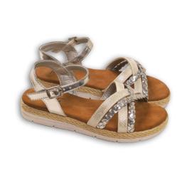 Braids & Print sandals