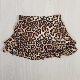 Soft leopard skirt