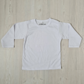 White Basic longsleeves tee