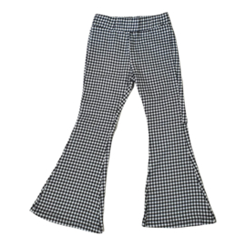 Blocked flair pants