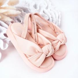 Pink pastel slipper