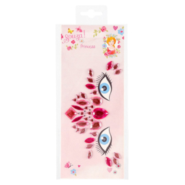 Gezichtssteentjes - roze