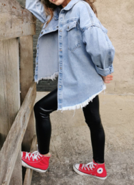 Lightblue denim blouse