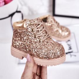 Gold glitter timby