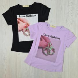 Love fashion tee
