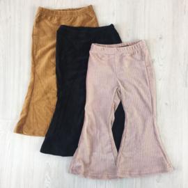 Corduroy flair pants