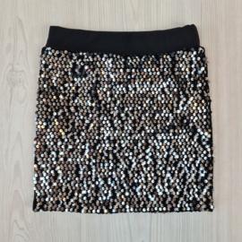 Glitter & paillet skirt