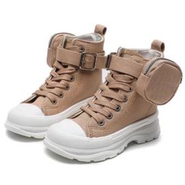 Bag it up sneaker - Beige