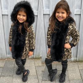 Ultimate Furry & Leopard jacket