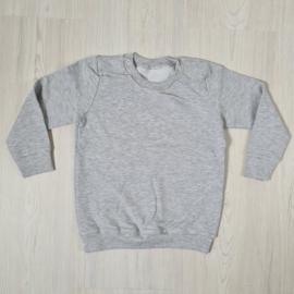 Grey Basic Sweater