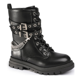 Tough & chained boots