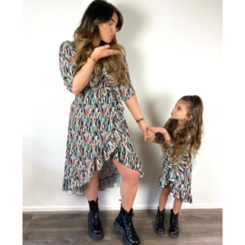 Go with the flow dress - Mommy & me