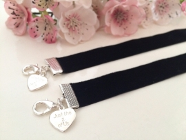 "Choker ""just the 2 of us"" los"