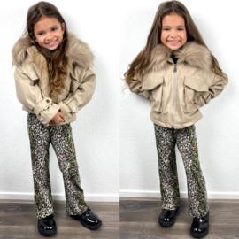 Fresh leather jacket