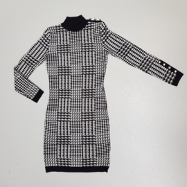 Mommy's houndstooth dress