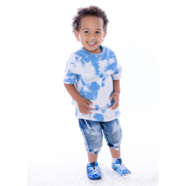 Blue Cloudy boy tee