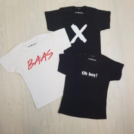 X + Baas + Oh boy Package Shortsleeves