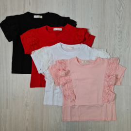 Lace & basic top 4 colors