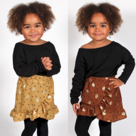 Golden dots skirt