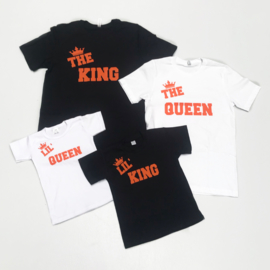 Kingsday tee orange (twinning)