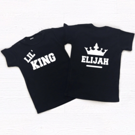 Lil' King/Queen (gepersonaliseerd)