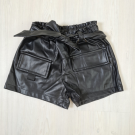 Any time leatherlook short