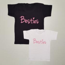 Besties pink Shortsleeves