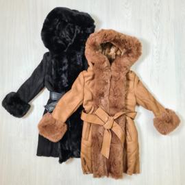 Suede & Fur coat