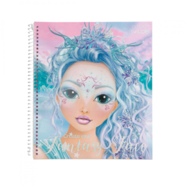 Create Your Fantasy Face kleurboek