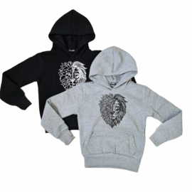 Black or grey lion sweater