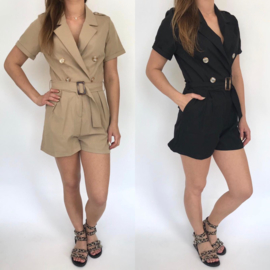 The belted playsuit (mommy)