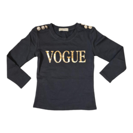 Buttoned vogue top
