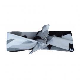 Grey camo headband