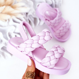 Lila 2 braids slipper