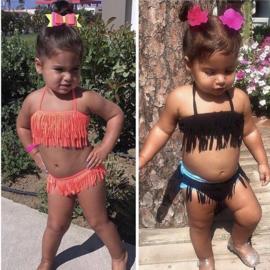 Mini fringe bikini