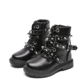 Studded basic boots