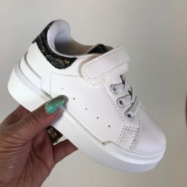 White sneakers snake