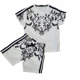 Boys white design set