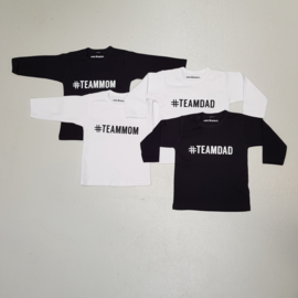 #Team tee longsleeves