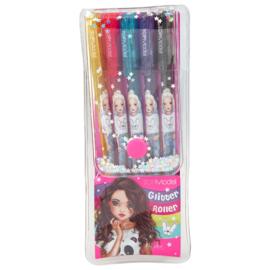 TOPModel Glitter Roller Gel Pen 5 Pack