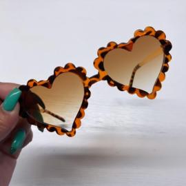 Lovely leopard sunglasses - kids