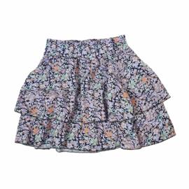 Lila flower skirt