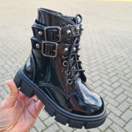 Black & Buckled boots