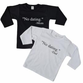 No dating