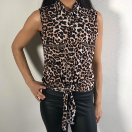 Leopard top - mommy