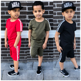 Summer striped boys set